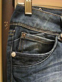 coin pocket on jeans, very detailed with a medium wash color Trouser Jeans, Denim Pants, Denim Men, Denim Ideas, Denim Trends, Colored Denim, Blue Denim, Streetwear, Work Jeans