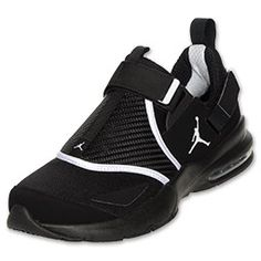 Get serious about your training and take it to the next level with the Jordan Trunner LX 11 training shoes. Rather than the traditional lace up front, the Trunner LX 11 uses a woven synthetic overlay that lays across the midfoot with hook and loop closures across the front and back for a secure lock down fit. Seamless interior reduces irritation for a more comfortable work out. Jordan's signature dog-bone collar cushioning ensures a secure fit for your heel and the two pull tabs on the heel…
