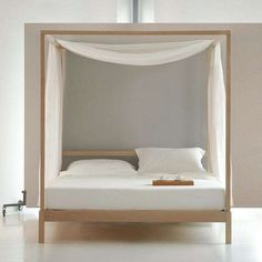 Massief teakhouten hemelbed 160x200 | Bedrooms, Canopy and Interiors