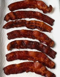 Perfectly cooked bacon without the hot mess! Cooked in the oven for easy clean up. Great for cooking big or small batches. This is how restaurants do it!