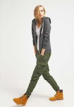 G-Star - ROVIC LOOSE TAPERED - Cargohose - caval green