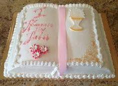 Znalezione obrazy dla zapytania tort komunijny
