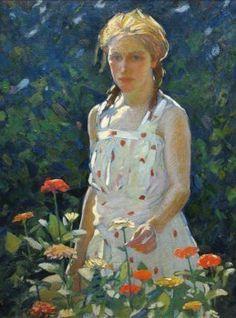 Zinnias - Gertrude Fiske (American, 1878-1961)