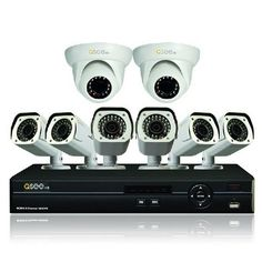QC908-8U7-2 8 Channel AnalogHD DVR 2TB Hard Drive and 8 HD 720p AnalogHD Cameras (White) - For Sale Check more at http://shipperscentral.com/wp/product/qc908-8u7-2-8-channel-analoghd-dvr-2tb-hard-drive-and-8-hd-720p-analoghd-cameras-white-for-sale/