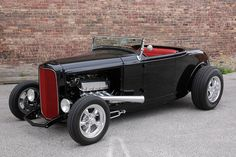 Way Cool '32 Ford Highboy Roadster Hot Rod