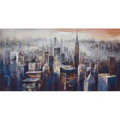 Acrylic City Wall Decor | Wayfair