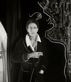 Herbert List,  Jean COCTEAU French poet, playwright & film director. 1948.