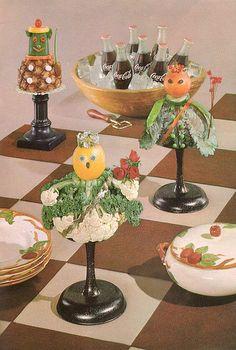 More decorative table arrangement derangements