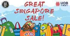 A new year, a Great new Singapore Sale! It is coming to the end of May and this means the greatest sale event in Singapore is kicking off once again.  We have partnered up with UOB to bring UOB Cardmembers two awesome deals during this period:  Promo 1: Spend at least SGD $30 to get $5 off your total purchase with the coupon code: UOBTAKE5  Promo 2: 20% off VoyLux range of luggage with the coupon code: GSGVOYLUX. Go here for VoyLux products: http://www.getsetgo.sg/brands/VoyLux.html