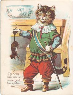 Puss in  Boots | from Father Tuck's Little Pets Series