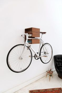 Design Bike Storage By @TheVandalList .com    (missing my Monty Amsterdam bike  :( I hope it fixed as soon as possible... )