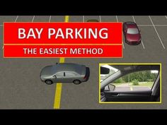 Reverse bay parking (or parking in a bay in reverse gear, 90 degree reverse parking, perpendicular parking) is one of the driving test maneuvers. Learn how t. Safe Driving Tips, Driving Safety, Driving Theory Test, Driving Test, Online Driving School, Reverse Parking, Learning To Drive, Easy Video, Car Stuff