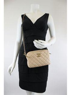 Chanel <br> CC Logo Camera Shoulder Bag