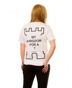 My Kingdom T-shirt in White Graphic Sweatshirt, T Shirt, Sweatshirts, Sweaters, Collection, Tops, Women, Fashion, Supreme T Shirt