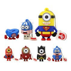 Made with ❤️ Cartoon Super Heros Minions USB Flash Memory Stick   http://www.amdelectronics.co.uk/products/cartoon-super-heros-minions-usb-flash-memory-stick?utm_campaign=crowdfire&utm_content=crowdfire&utm_medium=social&utm_source=pinterest
