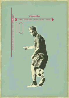 Ronaldinho of Brazil wallpaper.