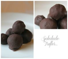 Sjokoladetrøfler...