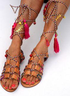 d09f28d92 Sandals Pisces handmade to order Ιχθύες, Χειροποίητο, Τακούνια, Δαντέλα,  Δέρμα, Μόδα