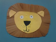 Lion zoo craft for toddlers