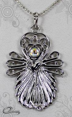Pingente Samira joias com significado - Joias em rodio (ouro branco)