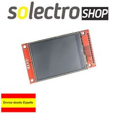 a lcd tft 24 display touch 240x320 spi pantalla arduino uno mega raspberry p001