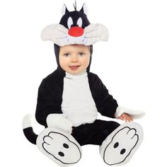 Baby Sylvester Costume - Looney Tunes