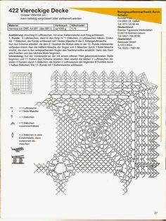 Patterns and motifs: Crocheted motif no. 133