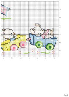 Gallery.ru / Фото #2 - kokkino1 - ergoxeiro Cross Stitch Pillow, Cross Stitch Baby, Cross Stitch Animals, Cross Stitch For Kids, Cross Stitch Boards, Cross Stitch Designs, Cross Stitch Patterns, Cross Stitch Numbers, Cross Stitch Tutorial