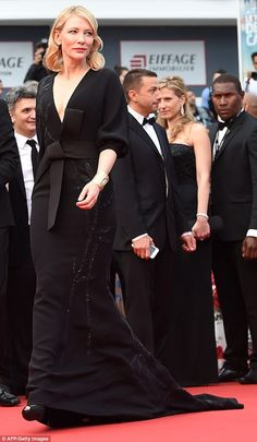 She's a pro: Cate rarely gets a foot wrong with her sartorial efforts...