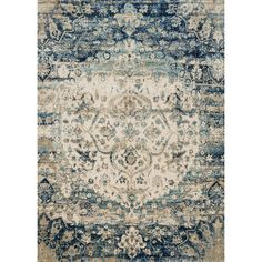 Found it at Wayfair - Hand-Woven Blue/Ivory Area Rug