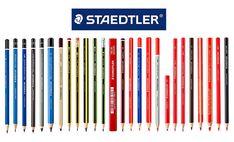 Staedtler-Pencil-Product-Range Pastel Pencils, Watercolor Pencils, Colored Pencils, Derwent Pencils, Wooden Pencils, Artist Pencils, Pencil Design, Brand Guide