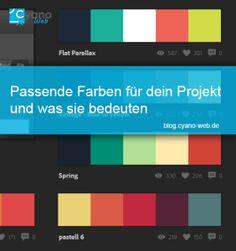 Wie du passende Farben für dein Projekt findest und was sie bedeuten - Cyano-Web.de