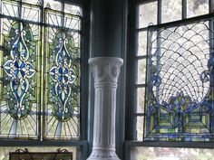 sunroom stained glass windows?