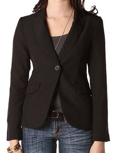 A blazer can be great for an interview or just a day at work.