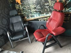 ALFA ROMEO TOP GEAR CAR SEATS CHAIRS MOMO LEATHER CLASSIC CAR BEST AVAILABLE