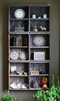 'nice use of aged crates