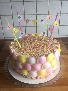 Girl Birthday, Birthday Cake, Candy Party, Sweet 16, Kids Meals, Fondant, Cake Recipes, Birthdays, Food And Drink