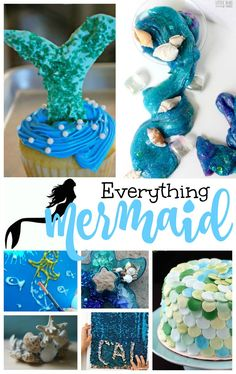 20  The Best Mermaid Theme Party Ideas, Under the Sea themed Ideas, Ocean Themed activities, Party food, Mermaid Crafts for Kids, Sensory play, Kids Parties