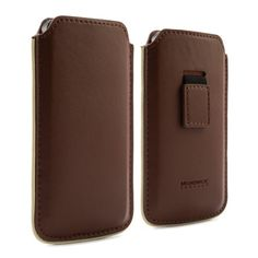 Black Friday Proporta 13981 Leather Case Cover Pouch for iPhone 5 - Retail Packaging - Brown from Proporta
