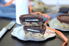 LITTLE OREO, CHOCOLATE CHIP COOKIE AND NUTELLA BROWNIES