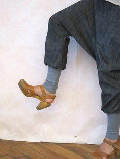 92aa2dbf893a Jeans Haremshose blau lässig bequem, Baggy Hose Jeans, Sarouel Hose,  Jeanshose, Jeans