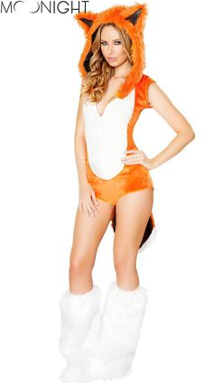 Fox Fanny Cute Halloween Costumes For Women