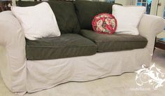 Drop Cloths Slipcovers And Drop Cloth Slipcover On Pinterest