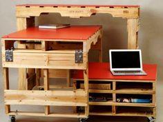 DIY Möbel Aus Europaletten U2013 101 Bastelideen Für Holzpaletten   Holz  Paletten Möbel Selbst Basteln DIY Ideen Hell Holz | Pinterest | Pallet  Wood, ...