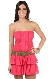 Junior Clothing | DebShops.com  I have a dress just like this except its a more orangey color