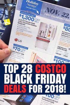 Top 28 Costco Black Friday Deals for - The Krazy Coupo Black Friday Deals Online, Black Friday Ads, Best Black Friday, Black Friday Shopping, Line Shopping, Shopping Hacks, Friday Pictures, Cyber Monday Deals, Christmas Shopping