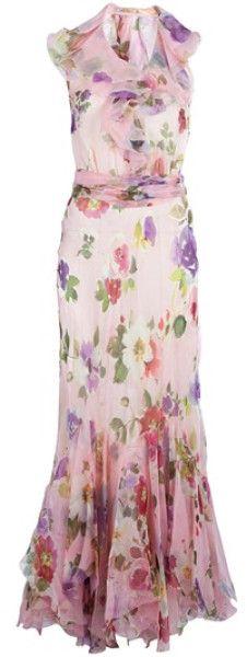 Ralph  Lauren  Blue  Label  Floral Dress @Lyst