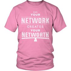 Your Network Creates Your Networth
