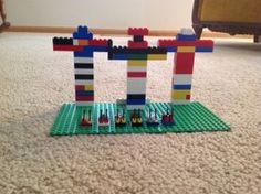 Lego quest for homeschoolers - weekly lego challenges