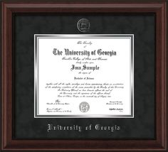 Sculpted Foil Seal /& Name Graduation Diploma Frame Gloss Mahogany with Gold Accent 16 x 16 Signature Announcements Eastern Illinois University Undergraduate